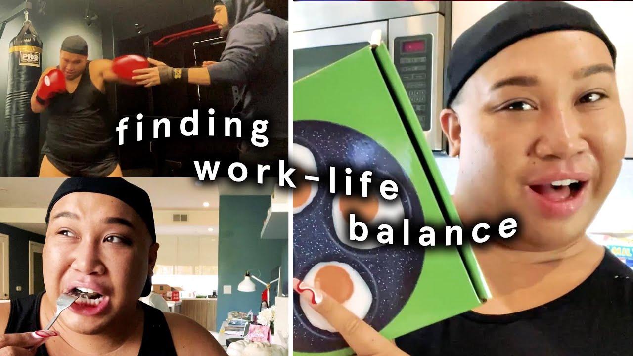why I'm not on youtube & finding work-life balance