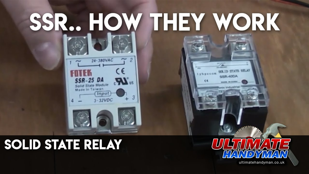 Solid State Relay Wiring Diagram Vfd Starter Ssr Youtube