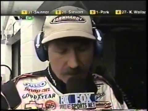 2001 Dale Earnhardt And Darrell Waltrip Interview On FOX Sports Net