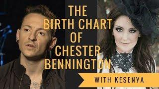 The birth chart of Chester Bennington