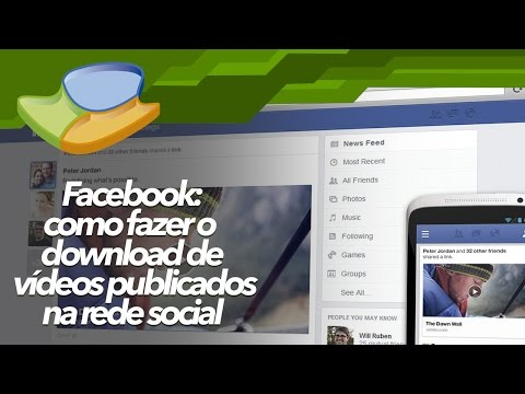Como baixar vídeos do Facebook - Baixaki