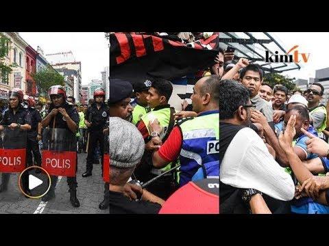 Video penuh: Kecoh..Tegang..sepanjang himpunan 'tangkap Jho Low'