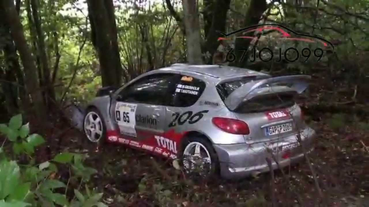eifel rallye festival 2015 after crash peugeot 206 wrc hd youtube. Black Bedroom Furniture Sets. Home Design Ideas