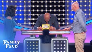 Nom nom nom! I can't eat just ONE...   Family Feud
