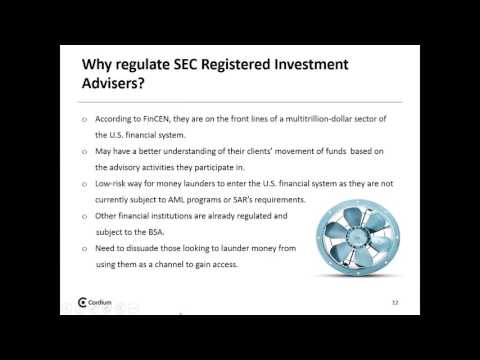 The Impact of FinCEN's Proposed Rule on SEC Registered Investment Advisers