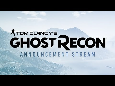 Tom Clancy's Ghost Recon World Premiere Live Stream - IGN Live