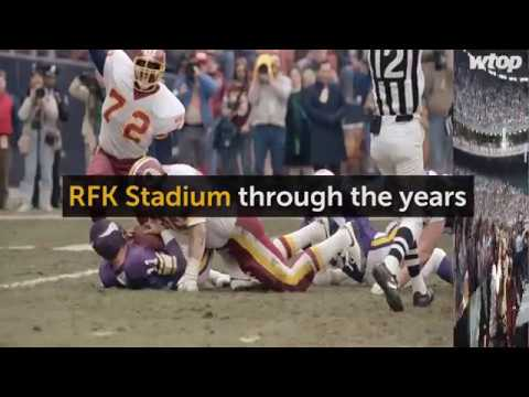 RFK Stadium through the years