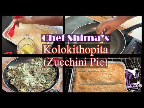 Kolokithopita | Zucchini Pie