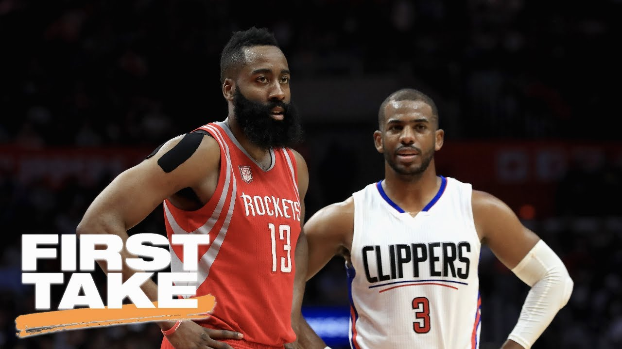 First Take Reacts To Chris Paul Trade To Rockets First Take June
