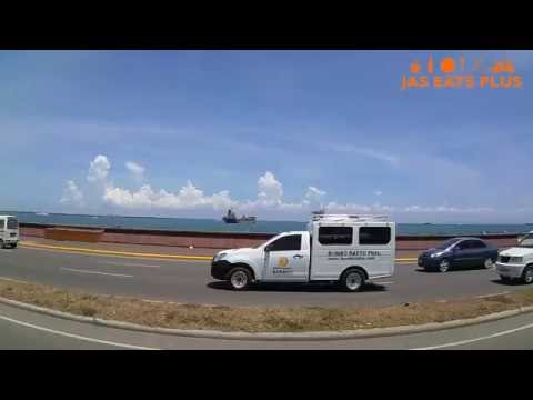Philippine street view: Cebu North Reclamation Area to South Road Properties (SRP)