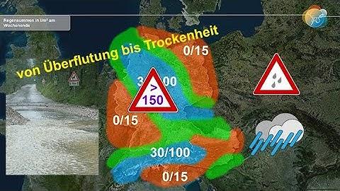 Aktuelle Wettervorhersage für Samstag, 12. Juni 2020: von Gewittern mit Starkregen bis Trockenheit.