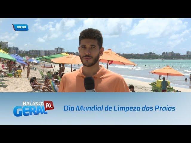 Universidade realiza atividade no Dia Mundial de Limpeza das Praias