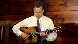 J.S. Bach - Arioso from Cantata No.156 (Pete Smyser - solo classical guitar)