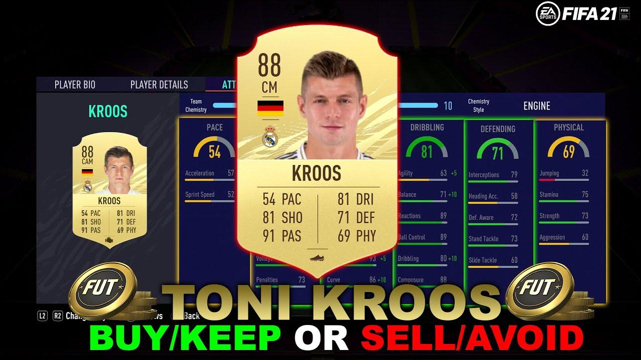 FIFA 21 TONI KROOS PLAYER REVIEW