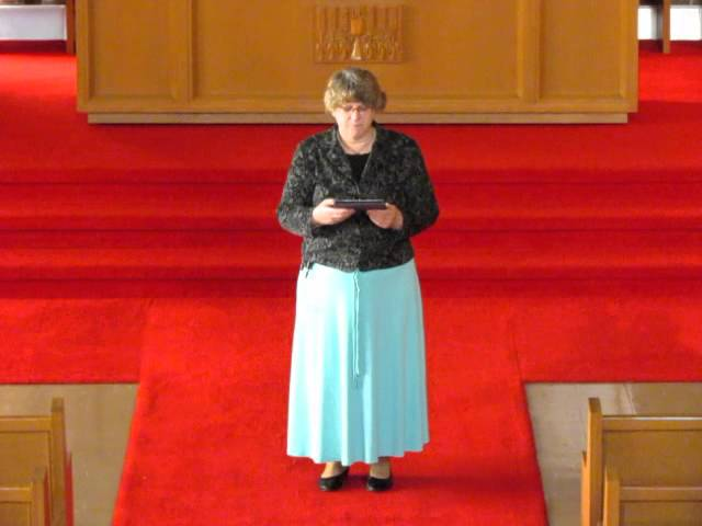 April 10th Rev. Sharon Lohnes Reflection