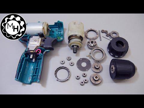 Inside a Drill + repair