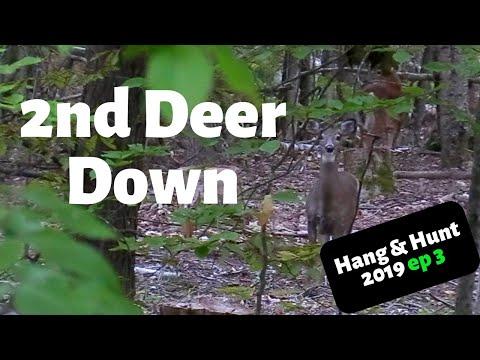 Deer Hunting Maine (Bow Season)2019 Hang & Hunt Ep 3