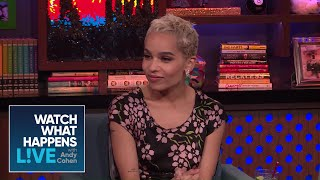 Zoe Kravitz On Almost Mom-In-Law Nicole Kidman | WWHL