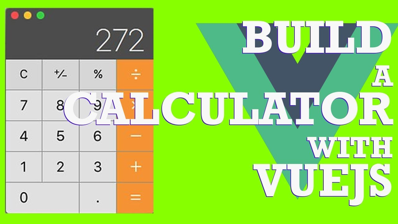Build a Calculator with VueJs