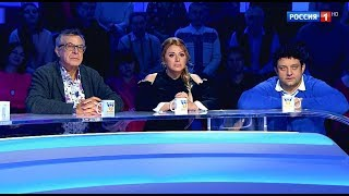 """Алена Апина в программе """"Пятеро на одного"""" - 2017"""