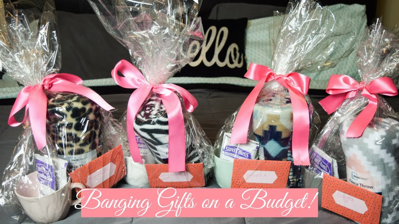 Gifts on a Budget!   Banging Gifts for less than $10 - YouTube