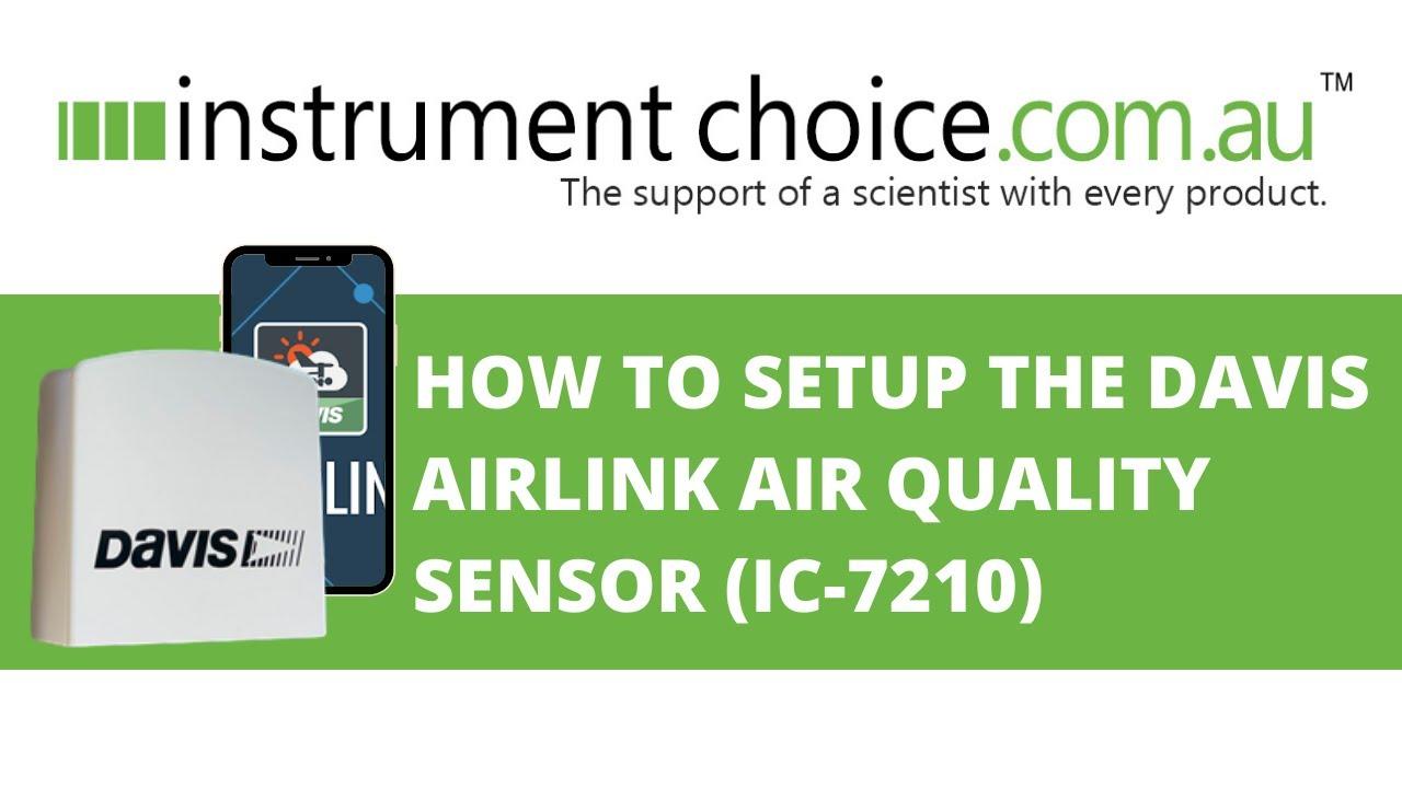 Davis Instruments AirLink Professioneller Luftqualit/ätssensor