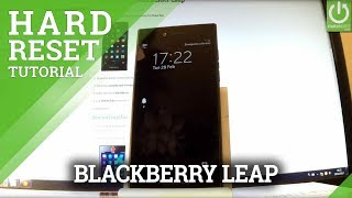 BLACKBERRY Leap HARD RESET / Restore BLACKBERRY / Format