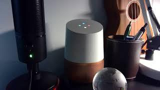 AI Hayatın Ötesinde kişisel AI oluşturur bu Google Home demo bakın