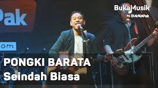 Pongki Barata - Seindah Biasa (with Lyrics)   BukaMusik