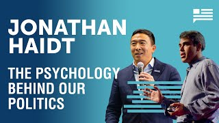 Jonathan Haidt: What makes someone a Republican or a Democrat? | Andrew Yang | Yang Speaks