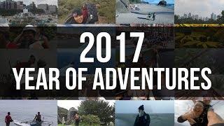 2017 RECAP: YEAR OF ADVENTURES