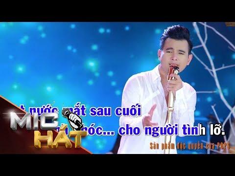 Khóc Cho Người Tình Lỡ | Lâm Hùng | Karaoke