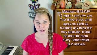 Matthew 18:19 KJV - Prayer - Scripture Songs
