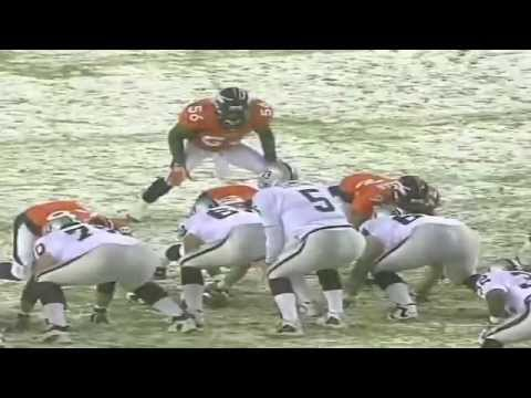 Raiders Broncos snow game 2004