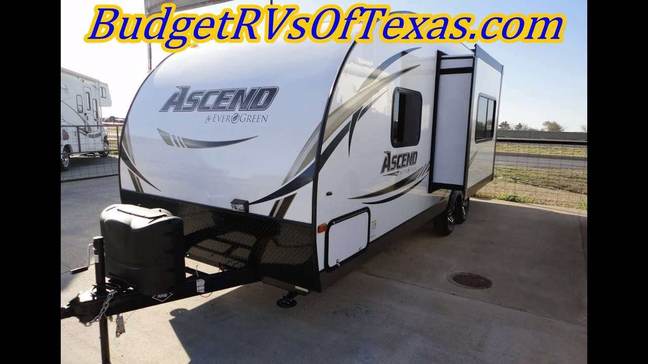 2013 Ascend A231RKB Super Light Bumper Pull Travel Trailer For Sale In DAllas Texas