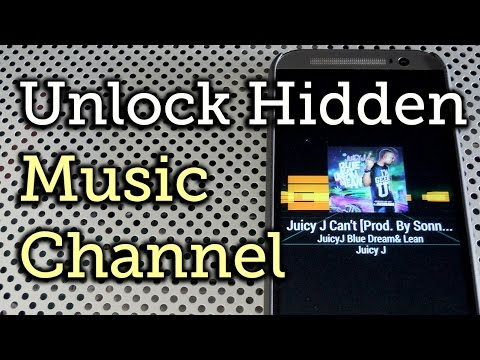 Enable the Hidden Music Channel Feature on Your HTC One [How-To]