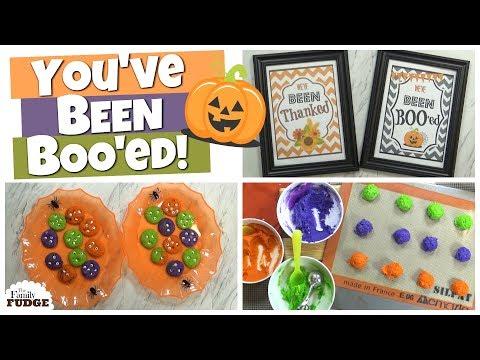 "How to ""BOO"" Neighbors & Friends || FUN Family Halloween Activity"