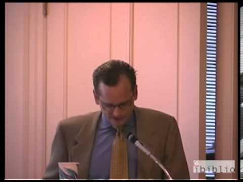 Lawrence Lessig: A Public Talk on Internet Governance