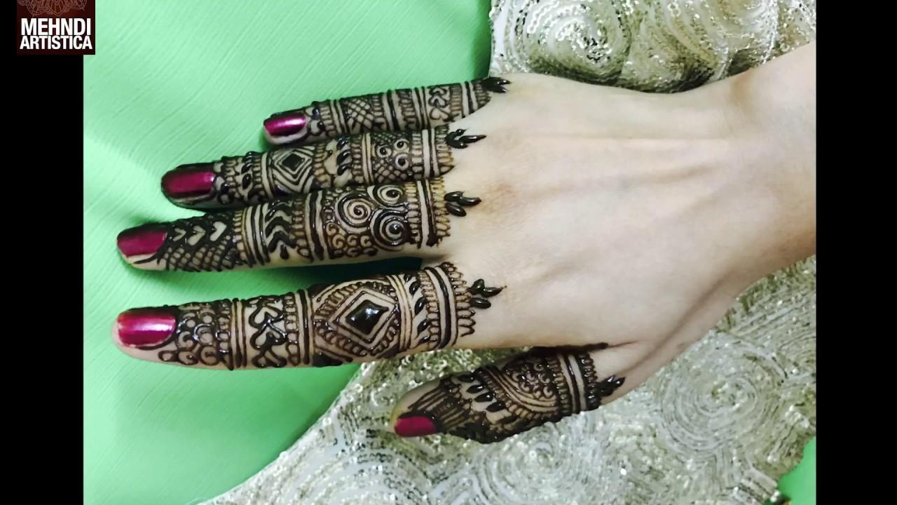 Mehndi Fingers Rating : Fingers designs mehndi for hands unique intricate designer