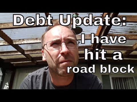Debt Update: I've hit a slight road block