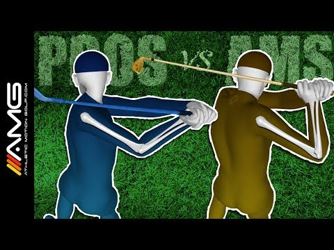 Right Arm Bend in the Golf Swing: Pros vs Ams