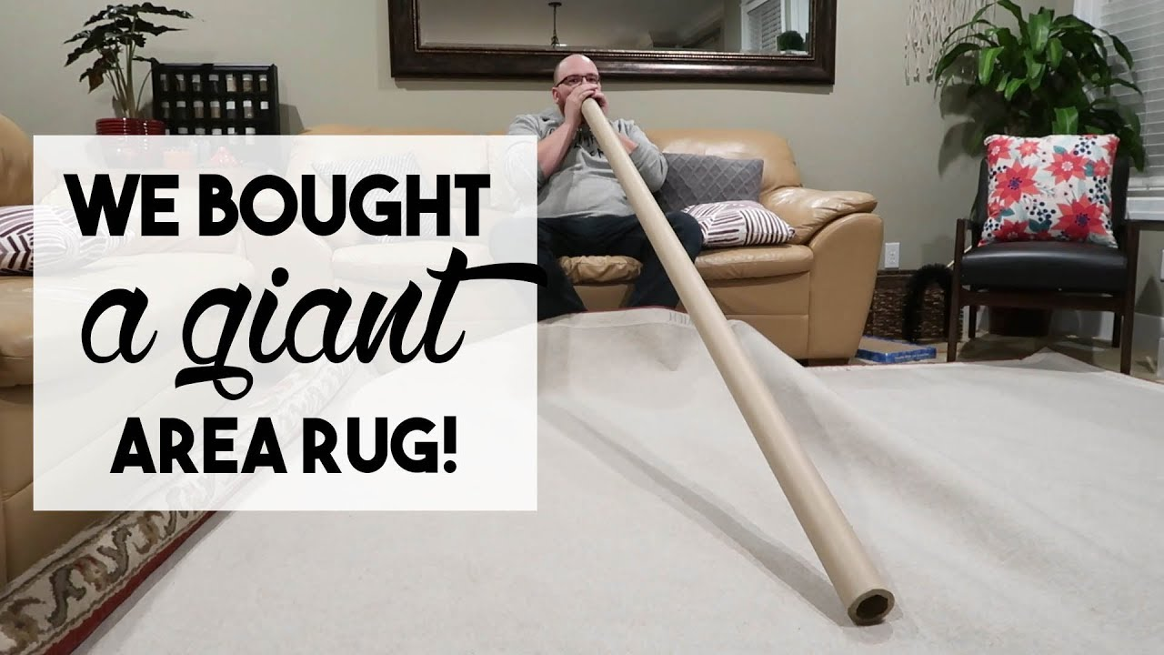 We Bought A Giant Area Rug January 2