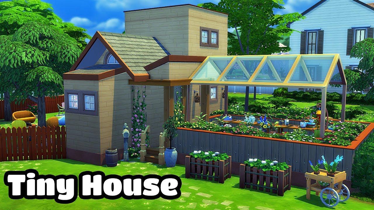Sims 4 Tiny Gardening House Sd Build