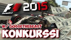 F1 2015 - KONKURSSI w/GusseTheBeast