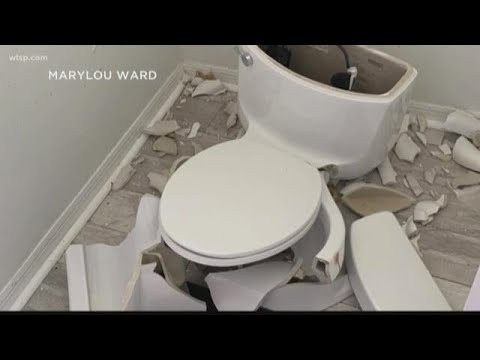 Manny's - Only in Florida?  Lightening Strike Causes Family's Toilet to Explode!