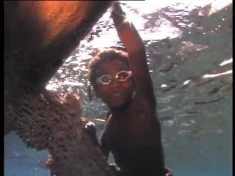 Kids underwater, Alor, Indonesia. (No audio)