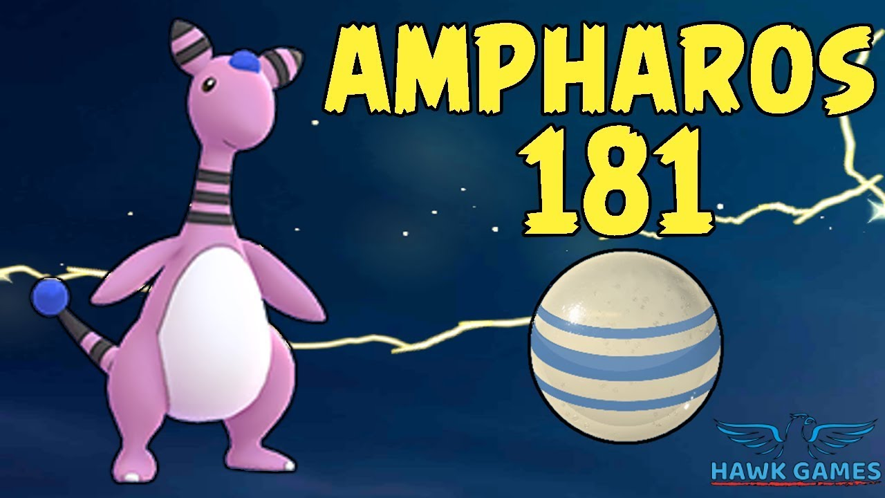 how to get ampharos in pokemon go