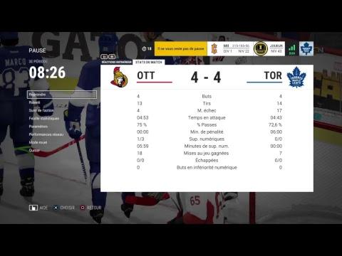 Qhcf saison 3 match #7 Ottawa vs Toronto
