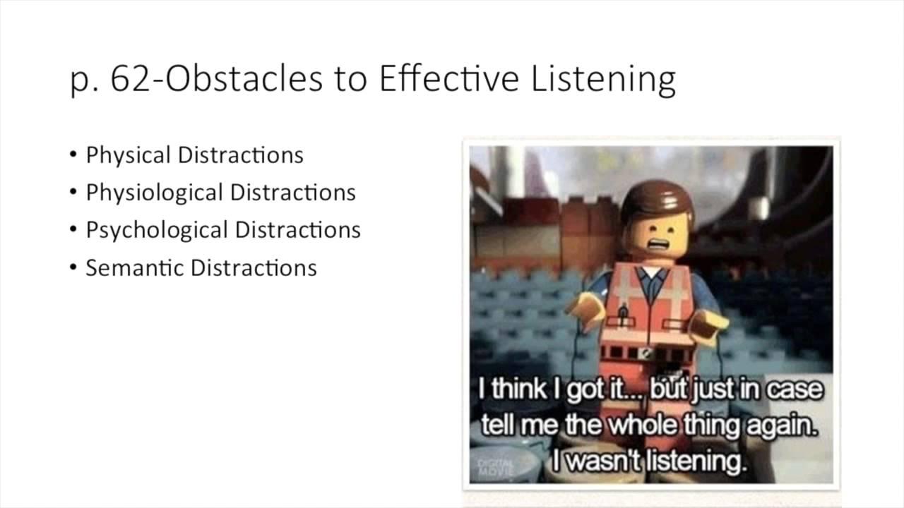 semantic distractions
