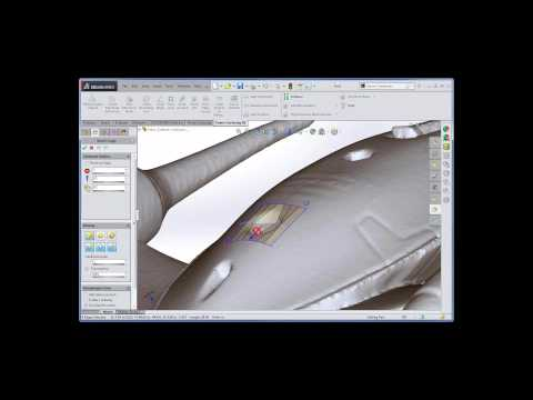 Novedge Webinar 155 SolidWorks with Power Surfacing RE:  Importing and using scanned meshes
